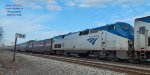 Second motor on Empire Builder #8 Tuesday