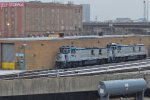 Genset duo at the Amtrak shops