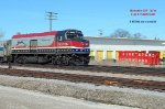 500 on the nose of Hiawatha 337 with a colorful 90221 Veterans' cabbage tail