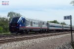 Charger IDTX 4626 is making its first appearences on the Hiawatha service