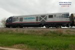 Hiawatha 940 test train with IL Dept of Transportation 4611