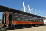 Pontchartrain Club - freshly tailored reflects the 6th St. bridge awaiting its ride to Chicago with Hiawatha 342