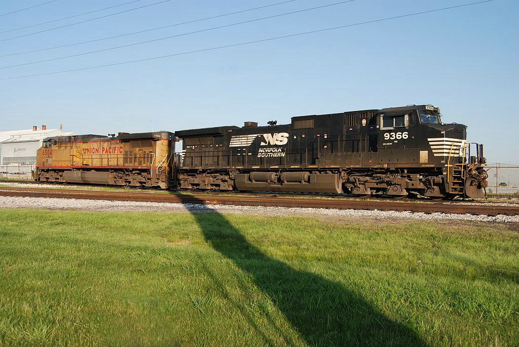 Norfolk Southern and Union Pacific
