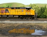 UP 5340 Reflected