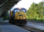 CSX 4507 passes through the Amtrak Station
