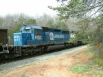 Ex-CR SD40-2 on a NB coal train