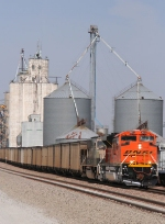 BNSF 9273 is seen here passing the UFC coopertive