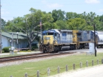 EMD parade! CSX 8365 blasts through town
