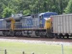 CSX 241 trailing unit on loaded coal train