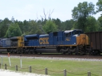 A rare, but favorite CSX 4831 trailing!
