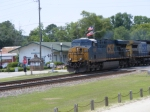 CSX 5282 poses with Glory