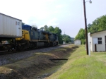 CSX 766 & CSX 240 are about to split the signals