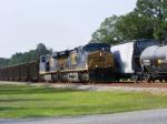 CSX 5105 & CSX 848 head South