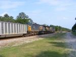 CSX 587 & 582 lead a loaded coal train South
