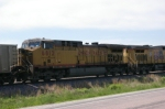 UP 6812 Is #2 on WB Stopped Coal Empties