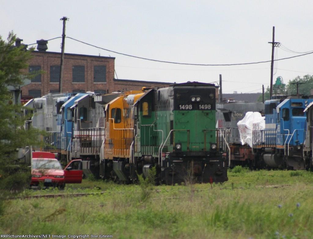 BNSF 1498