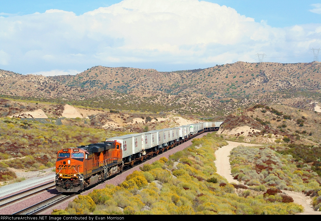 BNSF 6612