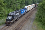 NS H2W NS 5260 on siding.