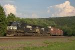 Westbound NS Manifest Train