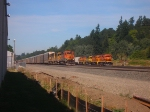 PNWR 2310 and BNSF 6399