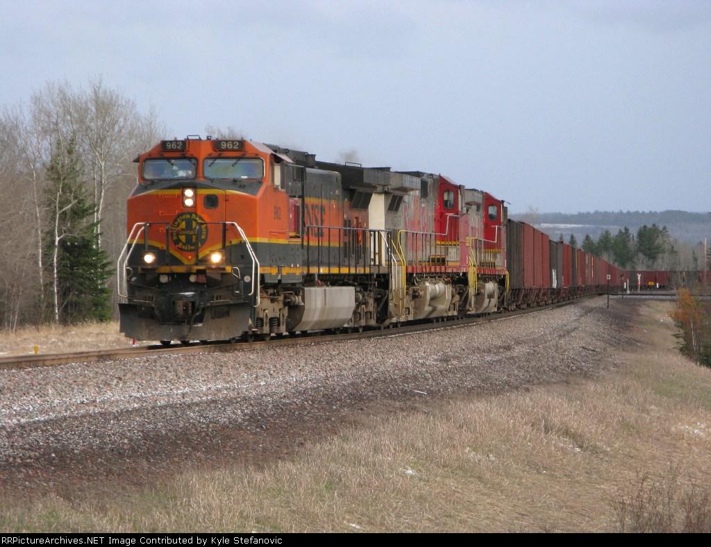 BNSF tac train