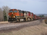 BNSF tac train