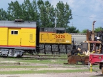 UP 6256 Sits on a Main Track on the Other Side of the Yard