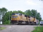 UP 4524 & UP 9830 Rest in the Yard