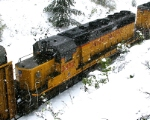 SD40-2 in the Snow