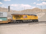 UP 7905 rear DPU in a WB doublestack IDILB at 2:52pm
