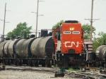 CN Gp38-2 #9560 on the R944 @ Hawthorne Yd