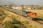 BNSF 7752 and AMTK 38