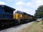 HLCX 5947 Ex. UP SD60 Trailing