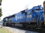 NS 5424 Ex. Conrail unit trails behind NS 7139