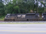 NS 2711 waits at the North End of Austell