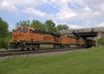 BNSF 7767, 5312, and 4765