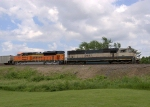 BNSF 9582 and 9199