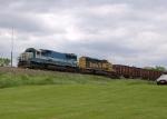 EMDX 9076 and BNSF 6766