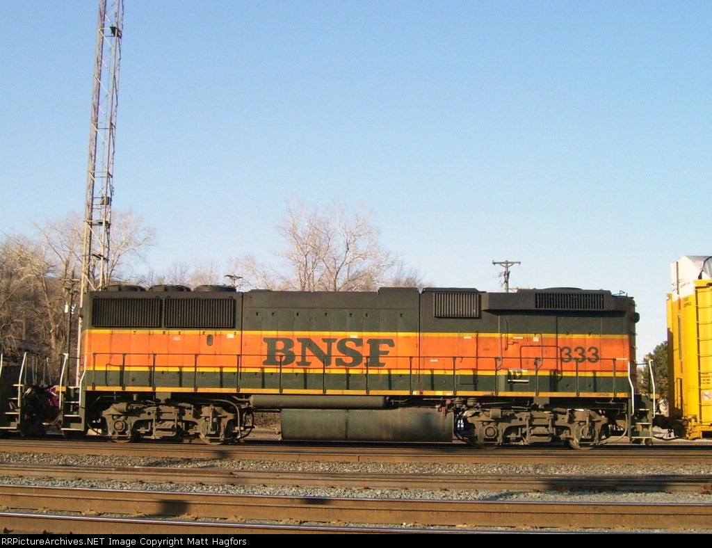 BNSF 333