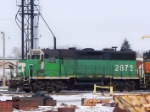 BNSF 2872