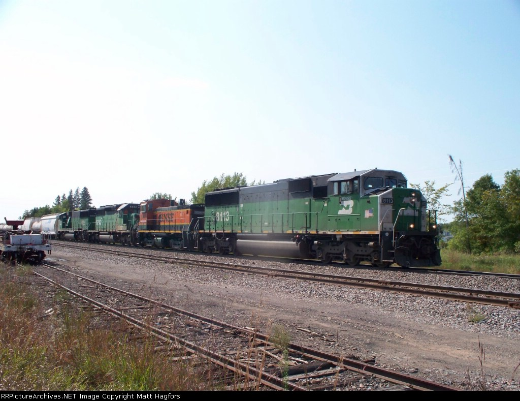 BNSF 8113