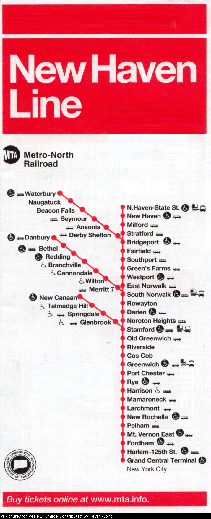 New Haven Line timetable