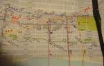 1985 New York Subway map-Midtown Manhattan detail