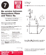 (7) no trains between Queensboro Plaza and Times Sq Service Notice