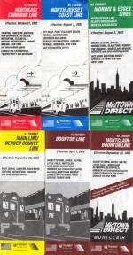 NJ Transit timetables-circa 2002