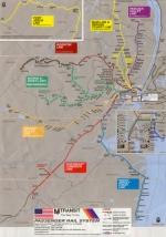 October 2001 NJ Transit map