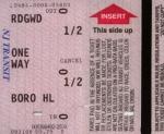 Ridgewood-Glen Rock/Boro Hall half fare ticket