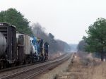 "CSX Q401 W/Older Conrail SD40-2 ""Clear Signal Collins"" MP 44.55"
