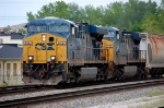 WB CSX freight headed to Barr
