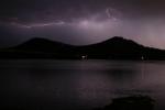 Under the lightning